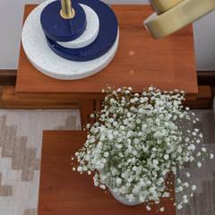 Small bedroom by estudio AMF arquitetura, Industrial Aluminium/Zinc