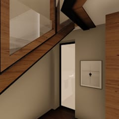 Apartment Renovation:  Stairs by Inline Spaces Pty Ltd