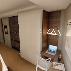 Apartment Renovation:  Study/office by Inline Spaces Pty Ltd