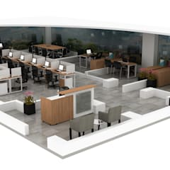 Offices & stores by Organimuebles