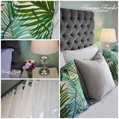Tropical haven:  Bedroom by Tamsyn Fowler Interiors, Classic