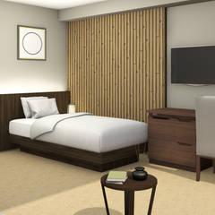 ORIENTAL STYLE HOTEL: Hotel in stile  di Studio Maiden