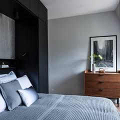 Appartement À Trocadero: Chambre de style  par Lichelle Silvestry
