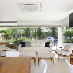 صالة مناسبات تنفيذ Mirá Arquitetura,