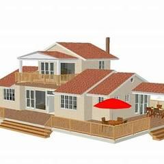 Prefabricated home by 스마트주방, Scandinavian Iron/Steel