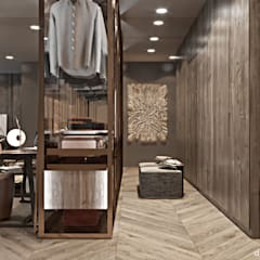 Dressing room by Diff.Studio,