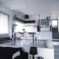 منزل عائلي صغير تنفيذ Arquitectura 2046