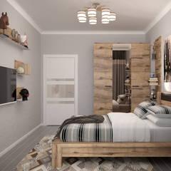 Bedroom by Студия интерьерного дизайна happy.design, Tropical