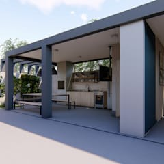 Balcony by Nova Arquitetura e Interiores
