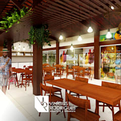 餐廳 by Vinícius Rodrigues | Arquiteto e Urbanista