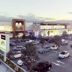 Winkelcentra door Helicoide Estudio de Arquitectura