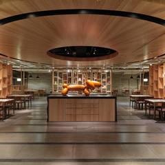ร้านอาหาร by 伊歐室內裝修設計有限公司