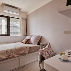 Girls Bedroom by 趙玲室內設計,