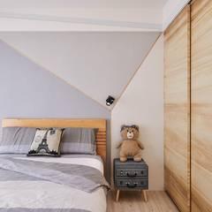 趙玲室內設計:  tarz Erkek çocuk yatak odası