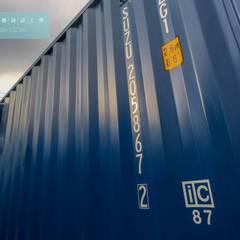 全新20呎定制型貨櫃套房:  被動式房屋 by 一龍貨櫃宅設計工程(貨櫃屋)