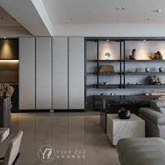 XU House:  牆面 by 元作空間設計