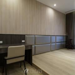 臥室:  小臥室 by 元作空間設計