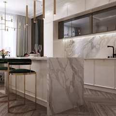 Built-in kitchens by GLAZOV design group концептуальная студия дизайна интерьеров