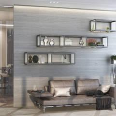 陽台 by GLAZOV design group концептуальная студия дизайна интерьеров