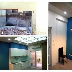Small kitchens by 奕禾軒 空間規劃 /工程設計