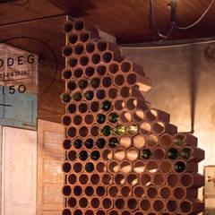 Bodega 150 Espaços de restauração rústicos por Projecto 84 Rústico