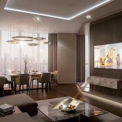 Koridor dan lorong oleh GLAZOV design group концептуальная студия дизайна интерьеров, Mediteran