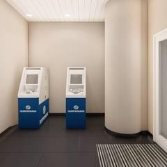 """Визуализация помещений банка """"Газпромбанк"""": Коммерческие помещения в . Автор – ТруАрт"""