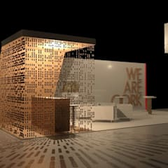 Salones de eventos de estilo  por AR Studio Architects