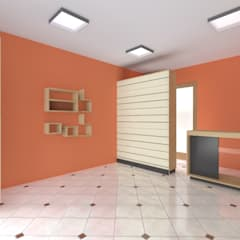Bazar Moira: Oficinas y Tiendas de estilo  por ARDI Arquitectura y servicios,