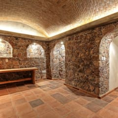 Wine cellar by VillaSi Construcciones