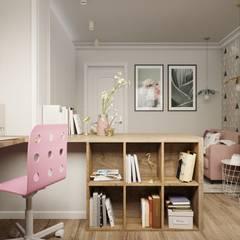 Квартира в Химках: Детские комнаты в . Автор – 3D GROUP