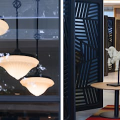伊歐設計工作室:  辦公室&店面 by 伊歐室內裝修設計有限公司, 隨意取材風