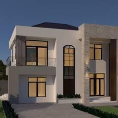 บ้านจำลอง 3D คุณจิว:  บ้านและที่อยู่อาศัย by บริษัท พี นัมเบอร์วัน ดีไซน์ แอนด์ คอนสตรัคชั่น จำกัด