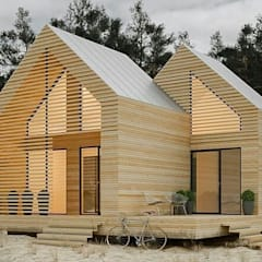 Wooden houses by ENNA DECORATİON