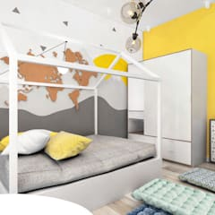Dormitorios infantiles de estilo  por SI design studio , Industrial
