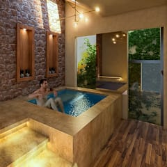 Hot tub by Vintark arquitectura