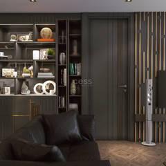 Cess İç Mimarlık – Istanbul Radisson Blu Rezidans Projesi - Cessicmimarlik.com.tr:  tarz Oturma Odası, Minimalist