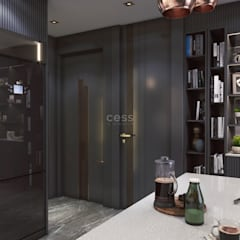 Cess İç Mimarlık – Istanbul Radisson Blu Rezidans Projesi - Cessicmimarlik.com.tr:  tarz Koridor ve Hol, Minimalist