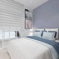 Kleines Schlafzimmer von Sph Interiores