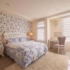 غرفة نوم بنات تنفيذ 趙玲室內設計