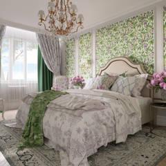 Квартира в стиле Прованс: Спальни в . Автор – B&D