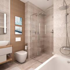 Квартира в стиле классик-модерн: Ванные комнаты в . Автор – B&D, Модерн