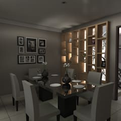 :  Dining room by Estudio Arquitectura 9