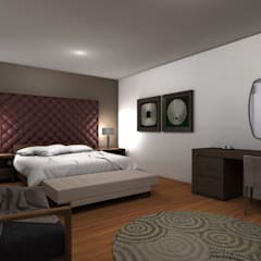 :  Bedroom by Estudio Arquitectura 9