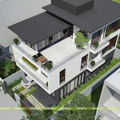 Villas by UK DESIGN STUDIO - KIẾN TRÚC UK