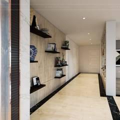 Hơi thở hiện đại cho Thiết kế nội thất Villa sành điệu hơn - ICON INTERIOR:  Cửa ra vào by ICON INTERIOR, Hiện đại