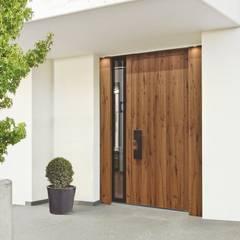 Puertas de entrada de estilo  por Kneer GmbH, Fenster und Türen
