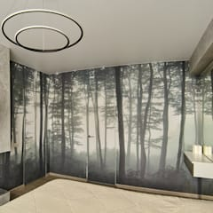 Городские джунгли: Спальни в . Автор – ARTWAY центр профессиональных дизайнеров и строителей, Модерн