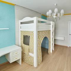 Habitaciones para niñas de estilo  por ARTWAY центр профессиональных дизайнеров и строителей