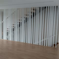 Moradias da Vila por PERCENTAGEM PLURAL Moderno Madeira Acabamento em madeira